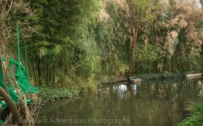Monet Garden Boat 2