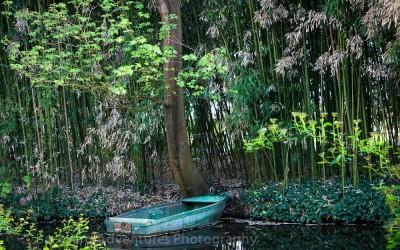 Monet Garden Boat