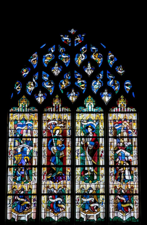 Spirit of Light:Collegiate Church Notre-Dame, Vernon, France